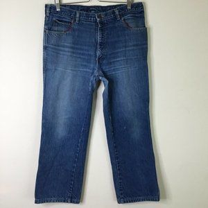 Vintage Calvin Klein Jeans Made In USA Size 38